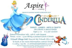 Cinderella Workshop