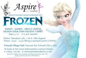 Frozen Workshop