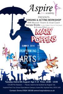 Summer 2016 Mary Poppins Workshop